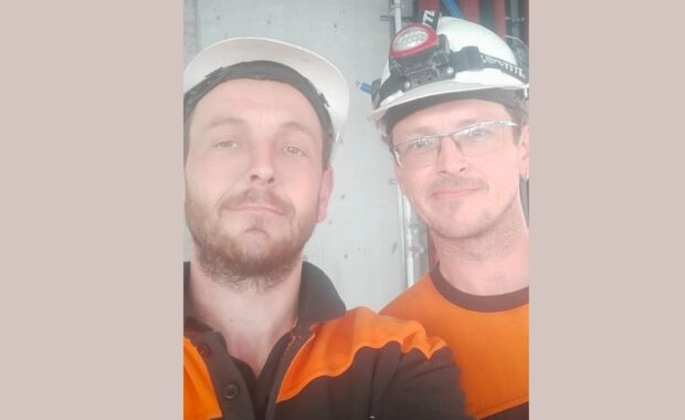 Martin és Milos – vízvezeték-szerelök Techvisie-ben